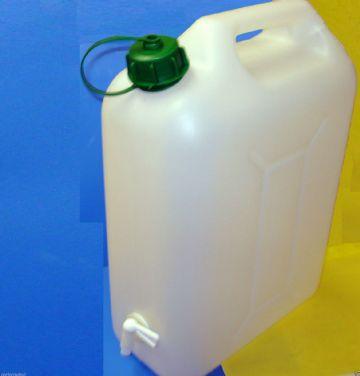 10 LTS WATER CAN CONTAINER WITH TAP TOP FILL FOR CAMPING